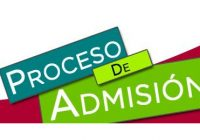 PROCESO DE ADMISION 2020