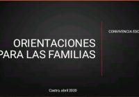 ORIENTACIONES PARA LAS FAMILIAS