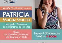 PATRICIA MUÑOZ, DEFENSORA DE LA NIÑEZ  EN LA MINGA DE LOS JUEVES